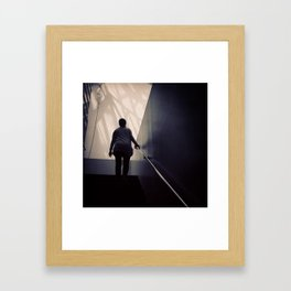 A View from the Stairs II, San Francisco Museum of Modern Art Framed Art Print