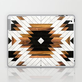 Urban Tribal Pattern 5 - Aztec - Concrete and Wood Laptop & iPad Skin