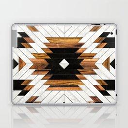 Urban Tribal Pattern 5 - Aztec - Concrete and Wood Laptop & iPad Skin