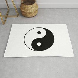 Yin And Yang Rug