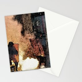 FRENCH LABOUR RIOTS - 1 Stationery Cards