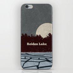 Reiden Lake (Fringe) iPhone Skin