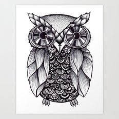 it's a hoot Art Print