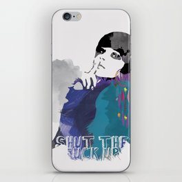Would You Please iPhone Skin