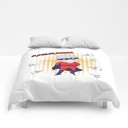 Super Grandpa Comforters