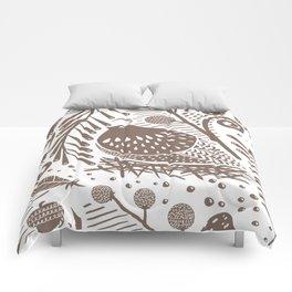 California Quail (Cocoa) Comforters