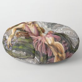 Persephone and Hades Floor Pillow