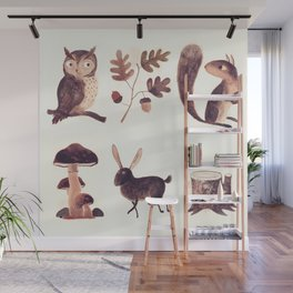 What you might find in the forest Wall Mural