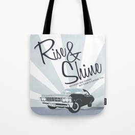 Rise & Shine: Mystery Spot Tote Bag