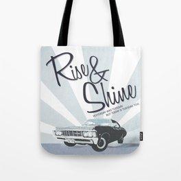 Rise & Shine: Mystery Spot Tote Bag