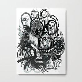 """""""Fake Pill"""" Metal Print"""
