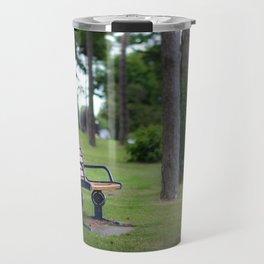 Remembrance bench Travel Mug