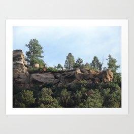 Colorado Bluffs Art Print