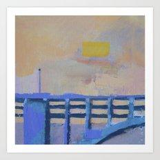 Bridge 3 Art Print