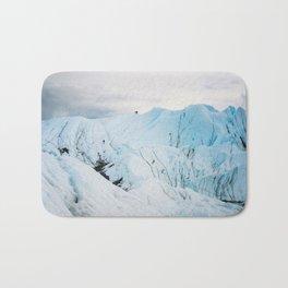 Lighting the Ice Peak Bath Mat