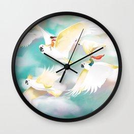 Safe Travels Wall Clock