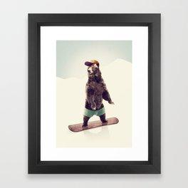 Board Framed Art Print