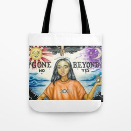 Gone Beyond Tote Bag