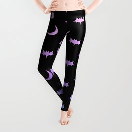 Pastel Goth Pattern (2) Leggings
