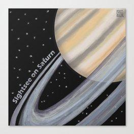 Sightsee On Saturn Canvas Print