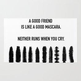 A GOOD FRIEND Rug