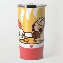 Chicken Noodle Puglie Soup Travel Mug