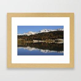 Davos Framed Art Print