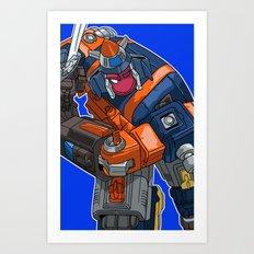 FUTRON THREE Art Print