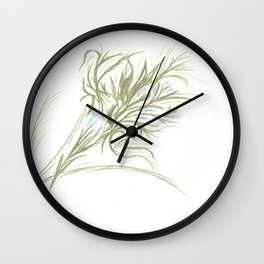 The Forest in the Tree Wall Clock