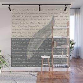 ANNABEL LEE (Allan Poe) Wall Mural