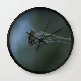 Arctic Cobweb Wall Clock