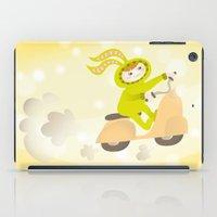 moto iPad Cases featuring Zayaz & Moto by Olya Yang