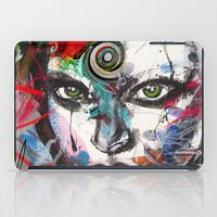 third eye iPad Cases featuring third eye by yossikotler
