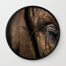 Wise Eyes Wall Clock