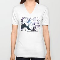 cowboy bebop V-neck T-shirts featuring Space Cowboy by feimyconcepts05