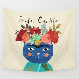 Frida Cathlo Wall Tapestry