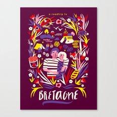 Bretagne Canvas Print
