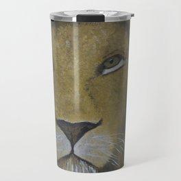 Portrait of a Lion Travel Mug