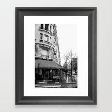 Parisian Cafe Framed Art Print