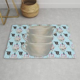 Time for a cuppa Rug