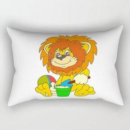 Cartoon lion Rectangular Pillow