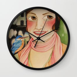 Indomitable Wall Clock