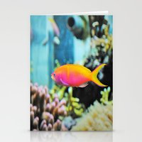 the life aquatic Stationery Cards featuring Life Aquatic by aes·thete