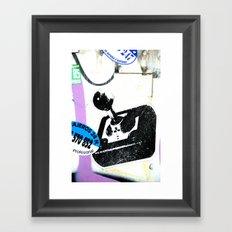 joystick Framed Art Print