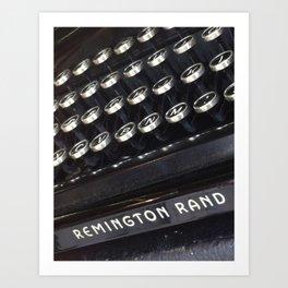Remington Rand 2 Art Print