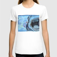 shark T-shirts featuring Shark by Leonie O'Moore