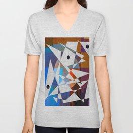 Contemporary Art Unisex V-Neck