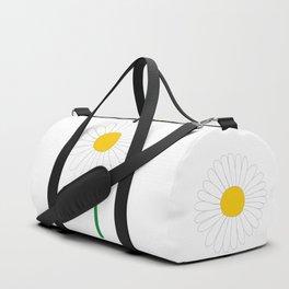Daisy Illustration Duffle Bag