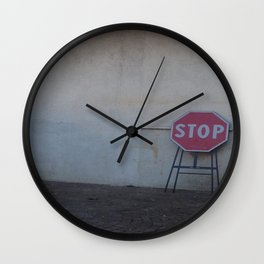 Stop. Breathe. And let it go ... Wall Clock