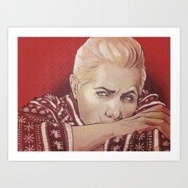 xmas!Cullen Art Print